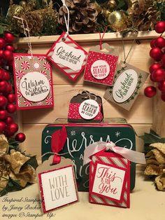 Christmas gift card backers