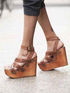 Jeffrey Campbell | Cactus Mountain Platform Wedges