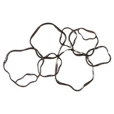Moes Home Collection Ring Wall Decor