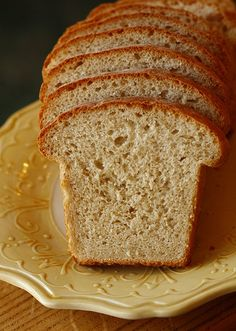 Oatmeal Bread (made with leftover oatmeal)
