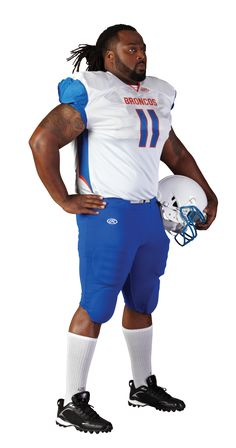 Rawlings Adult Sublimated Football Jersey - Bronco