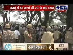 Minors gang-raped, hanged in Badaun
