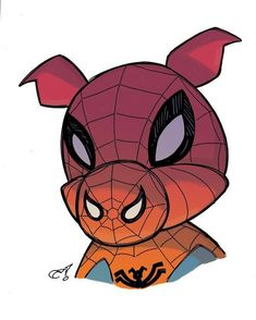 spider-ham! now in color.