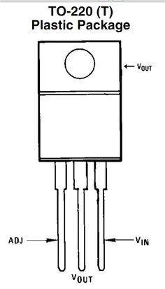 LM317 IC pinout specifications
