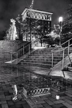 Reflections around Greenville, SC! Photo by Mark Kirby // yeahTHATgreenville