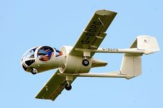 Edgley EA-7 Optica. A British aircraft designed for observation work. First flight on 14 December 1979. Power is from a Textron Lycoming 10-540-V4A5D flat six piston engine good for 200hp (194kW). Top speed is 140 knots, 161mph, or 259km/h.