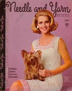 Needle Yarn #9 Spring Summer 1967 Knitting Crochet Pattern Coat Suit Dress Dolls #NeedleandYarn