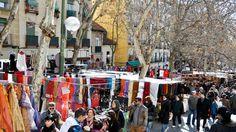 O Rastro é o mercado de pulgas de Madrid. Fica no bairro operário de La Latina, e acontece todos os domingos. Vale a caminhada! Em especial se tiver algum interesse em quinquilharias e antiguidades.