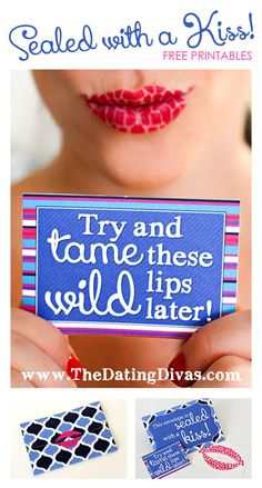 This lip tattoo will drive my hubby WILD!  Gift idea for HIM! www.TheDatingDivas.com