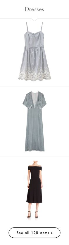 """""""Dresses"""" by wednesday12 ❤ liked on Polyvore featuring dresses, vestidos, dresses/rompers, maxi dress, velvet dress, maxi length dresses, light blue maxi dress, ganni, apparel & accessories and black"""