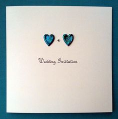 DIY wedding invitation from Inclinations handmade wedding stationery
