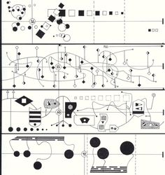 "John Cage ""Score for Imaginary Landscape No. 5"":    [image]"