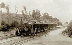 Sorento tramway. Melbourne Victoria, Victoria Australia, Old Pictures, Old Photos, Melbourne Suburbs, Old Train Station, The 'burbs, Abandoned Train, Old Trains