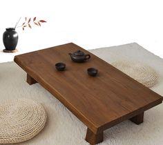 Mesa Baja De Madera Maciza De Olmo Antiguo Acabado Rectangular 90 Cm  Asiático Sofá Muebles De. Rustic Wood Coffee TableLow ...