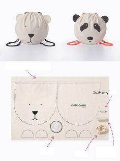 Panda çanta