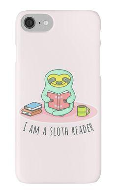 Reading Sloth by sombrasblancas