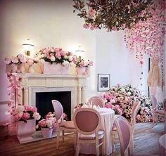 En rosa.