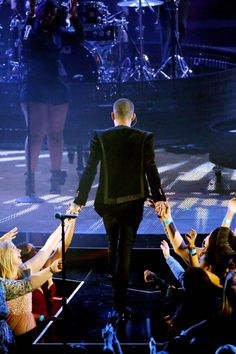 Zayn Malik performs onstage at the iHeartRadio Music Awards which broadcasted live on TBS, TNT, AND TRUTV from The Forum on April 3, 2016 in Inglewood, California.
