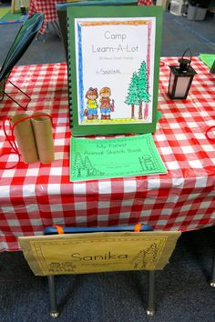 Kindergarten Open House Camping Theme Kindergarten Camping