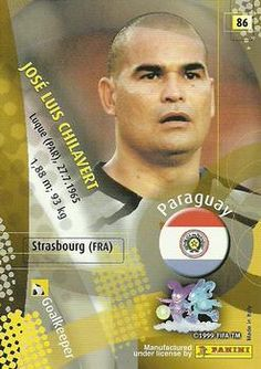 2002 Panini World Cup #86 Jose Luis Chilavert Back