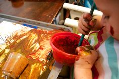 Fall Spice Paints | Sow Sprout Play