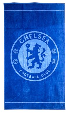 Official Chelsea FC Blue Velour Beach Towel 100% Cotton 70cm x 130cm in Home, Furniture & DIY, Bath, Towels   eBay#HarvardMills #LordOfTheLinens #Chelsea #ChelseaFootballClub #CFC #football #sport #support