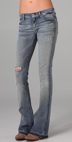 7 For All Mankind Kaylie Supermodel Boot Cut Jeans | SHOPBOP