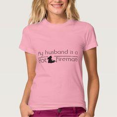 My husband is a hot firefighter t shirts T Shirt, Hoodie Sweatshirt