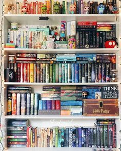 // QUESTION OF THE DAY: TELL ME ONE OF YOUR FAVORITE CHARACTERS AND WHY ARE THEY YOUR FAVORITE? • I need to take an updated shelfie  #bookstagram #books #instabook #bibliophile #shelfie #bookshelf