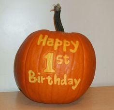 first birthday pumpkin | pumpkin first birthday - Google Search | Party and Holiday Decoration ...                                                                                                                                                     More