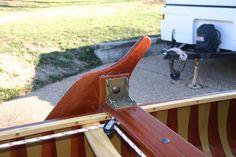 Leeboard bracket - Merrimack Sailing Canoe