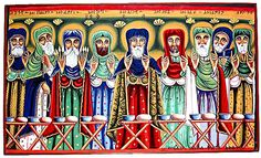 Znalezione obrazy dla zapytania christ and apostles medieval art Color Symbolism, Church Pictures, Russian Icons, Byzantine Icons, Religious Icons, Orthodox Icons, Medieval Art, Persecution, National Museum