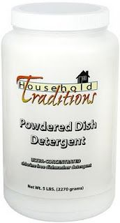 Eco-friendly dishwashing detergent that can hold its own! From Tropical Traditions.