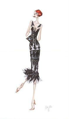 <3<3<3 Arturo Elena Fashion illustration