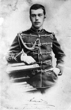Young Tsar Nicholas II