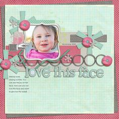 layout by Natalie using My Everyday Life and School Rules Papers Digital Scrapbooking Kit by Simple Girl Scraps