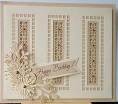 The Lotus striplet is the main die on this card.