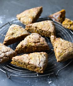 gluten and sugar free pumpkin scones