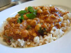 Chana Masala – Healthy Indian Cuisine... Weight Watchers Points Plus = 5 (makes 3 servings)