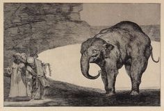 'Francisco de Goya, Animal Folly, 1824' This de Goya wil not cause nightmares. Brilliant printmaker and did not have all of the facilities that we do, not that much has changed. S.