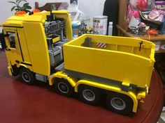 Lego Truck, Lego Toys, Lego Stuff, Lego Technic, Cool Lego, Lego Ideas, Workshop, Lego Creations, Toys