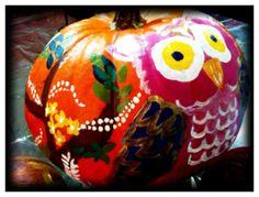 Owl pumpkin :) Halloween Crafts, Halloween Ideas, Owl Pumpkin, Love Holidays, Pumpkin Carving, Owls, Parties, Cute, Inspiration