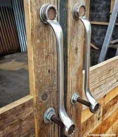 poignées de porte en clés plates