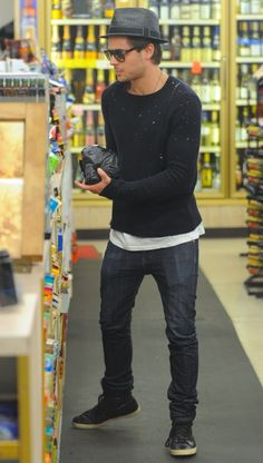 Zac Efron again lol - I love this guys style