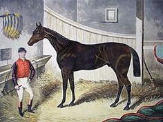 Pretender (1866–1878)British Thoroughbred racehorse & sire. After showing promise as a 2 year old in 1868 he improved to become a top class performer in the early part of the following year. He won the 2000 Guineas at Newmarket & the Epsom Derby. Pretender was the last horse trained in the North of England to win the Derby. He failed to complete the Triple Crown when he was beaten in the St Leger at Doncaster. Pretender's form subsequently deteriorated & he failed to record any significant…