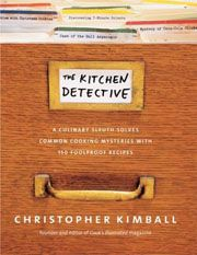 Sponge cake with rich lemon filling -The Kitchen Detective by Christopher Kimball