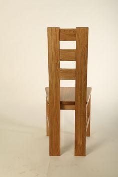 Krzesło K1B Wooden Dining Table Designs, Dining Room Furniture Design, Chair Design Wooden, Wooden Dining Tables, Dinning Table, Wood Table, Tree Table, Wood Sofa, Diy Table