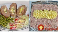 Jemná roláda z mletého mäsa: Žiadna strúhanka a drží perfektne – počas pečenia vám nepraskne! Lchf, Meatloaf, Baked Potato, Ham, Grains, Tacos, Potatoes, Mexican, Ethnic Recipes