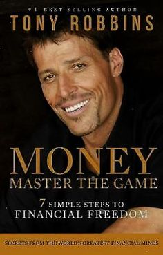 Money-Master The Game-Tony Robbins \/ Buy this book...even if you've mastered your \money game\--lol...because ALL OF THE PROCEEDS go back to FEEDING AMERICA! What a great guy! #Books #TonyRobbins