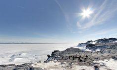 Google Street View llega a la Antártida - http://www.vdeviaje.me/google-street-view-llega-a-la-antartida/